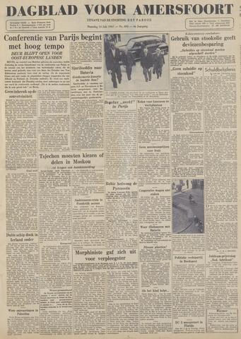 Dagblad voor Amersfoort 1947-07-14