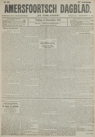 Amersfoortsch Dagblad / De Eemlander 1913-09-12