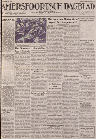 Amersfoortsch Dagblad / De Eemlander 1941-11-04