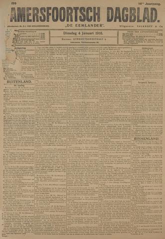 Amersfoortsch Dagblad / De Eemlander 1916-01-04