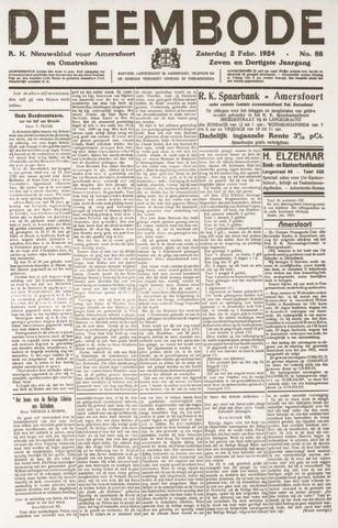 De Eembode 1924-02-02