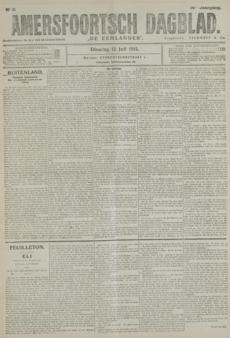 Amersfoortsch Dagblad / De Eemlander 1915-07-13