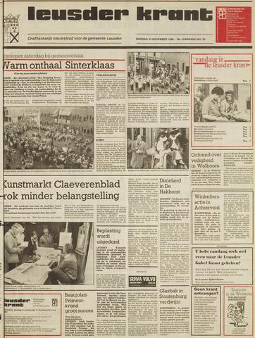 Leusder Krant 1986-11-25
