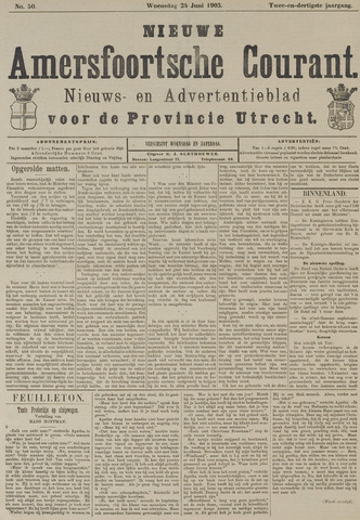 Nieuwe Amersfoortsche Courant 1903-06-24