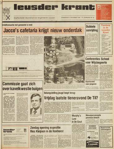 Leusder Krant 1985-12-12