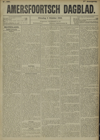Amersfoortsch Dagblad 1908-10-06