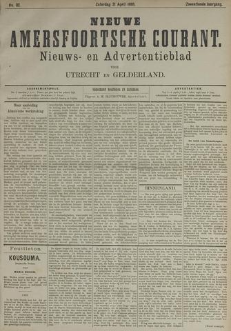 Nieuwe Amersfoortsche Courant 1888-04-21