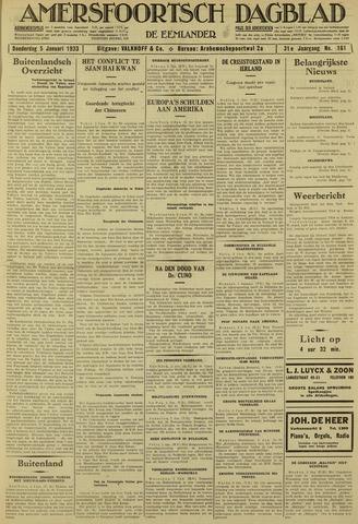 Amersfoortsch Dagblad / De Eemlander 1933-01-05