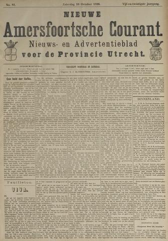 Nieuwe Amersfoortsche Courant 1896-10-10