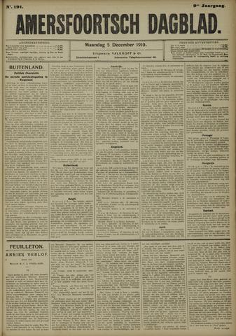 Amersfoortsch Dagblad 1910-12-05