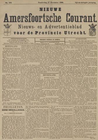 Nieuwe Amersfoortsche Courant 1906-12-27