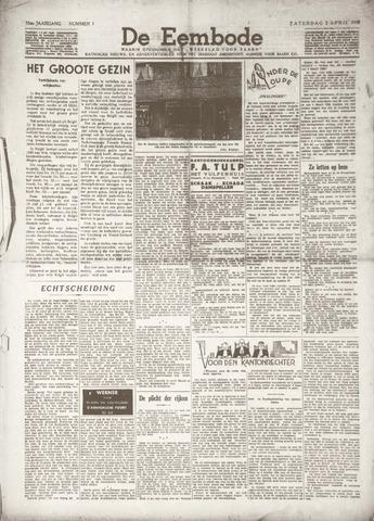 De Eembode 1938-04-02