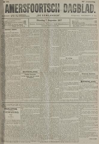 Amersfoortsch Dagblad / De Eemlander 1917-08-07