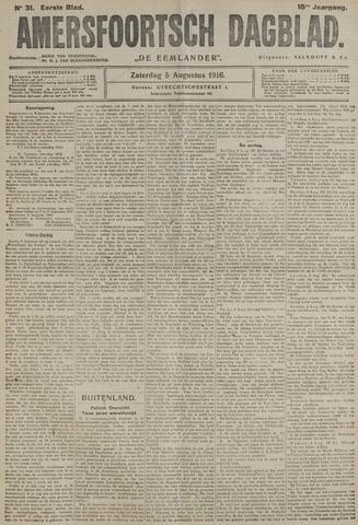 Amersfoortsch Dagblad / De Eemlander 1916-08-05
