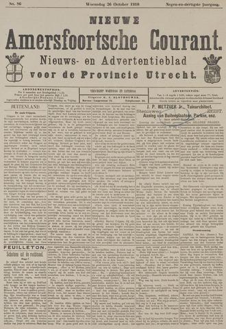 Nieuwe Amersfoortsche Courant 1910-10-26