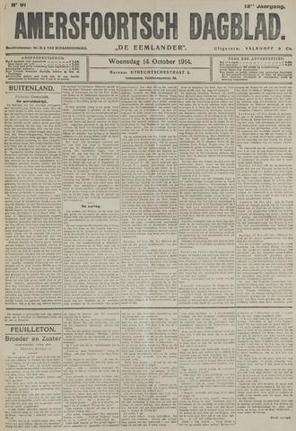 Amersfoortsch Dagblad / De Eemlander 1914-10-14