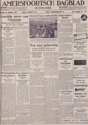 Amersfoortsch Dagblad / De Eemlander 1937-11-26