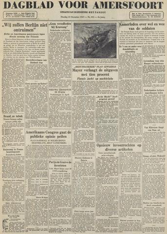 Dagblad voor Amersfoort 1947-12-23
