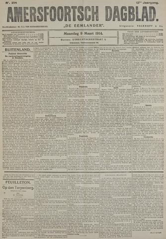 Amersfoortsch Dagblad / De Eemlander 1914-03-09