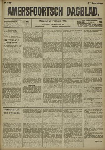 Amersfoortsch Dagblad 1905-02-20