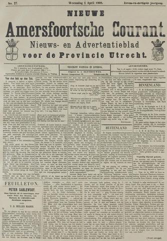 Nieuwe Amersfoortsche Courant 1908-04-01