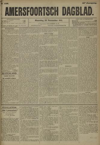Amersfoortsch Dagblad 1911-11-20