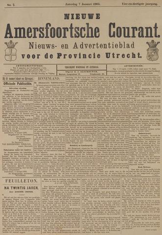 Nieuwe Amersfoortsche Courant 1905-01-07