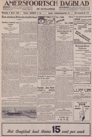 Amersfoortsch Dagblad / De Eemlander 1935-03-06