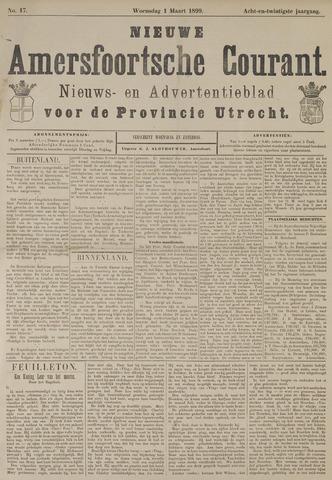 Nieuwe Amersfoortsche Courant 1899-03-01