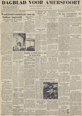 Dagblad voor Amersfoort 1947-10-22