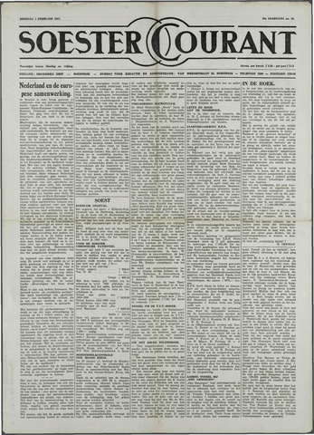 Soester Courant 1957-02-05