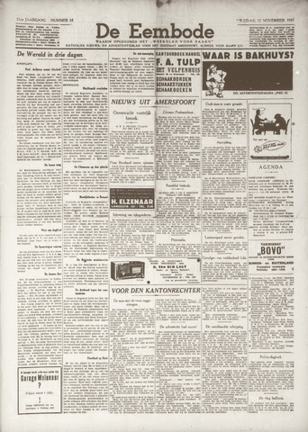De Eembode 1937-11-12