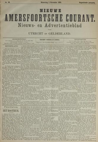 Nieuwe Amersfoortsche Courant 1890-11-05