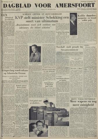 Dagblad voor Amersfoort 1950-09-14