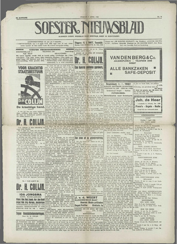 Soester Courant 1933-04-07