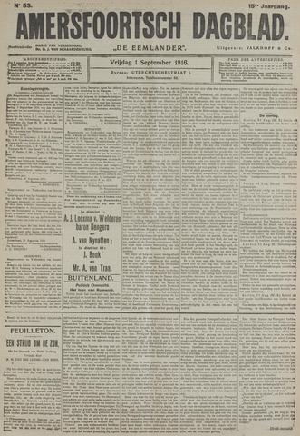 Amersfoortsch Dagblad / De Eemlander 1916-09-01