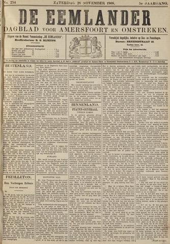 De Eemlander 1908-11-28