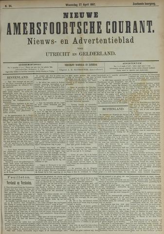 Nieuwe Amersfoortsche Courant 1887-04-27