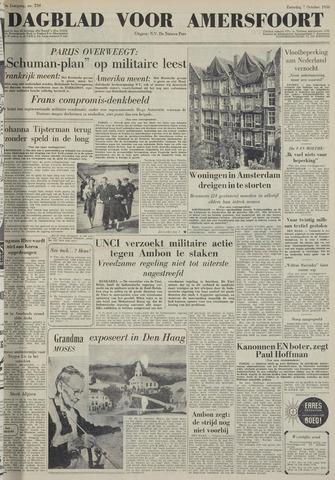 Dagblad voor Amersfoort 1950-10-07