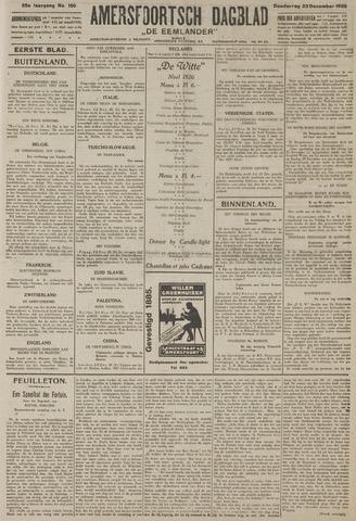 Amersfoortsch Dagblad / De Eemlander 1926-12-23
