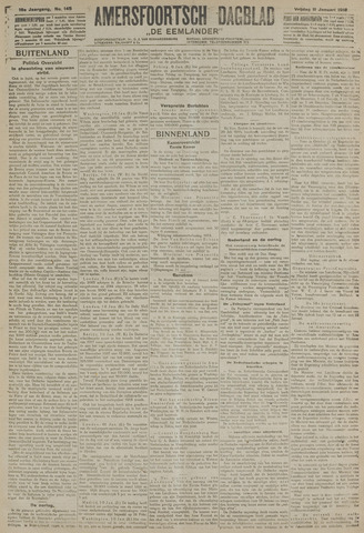Amersfoortsch Dagblad / De Eemlander 1918-01-11