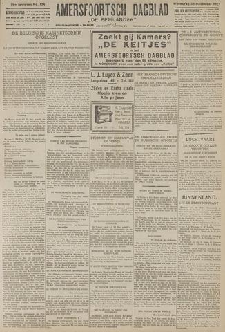 Amersfoortsch Dagblad / De Eemlander 1927-11-23