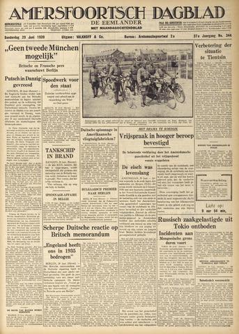 Amersfoortsch Dagblad / De Eemlander 1939-06-29