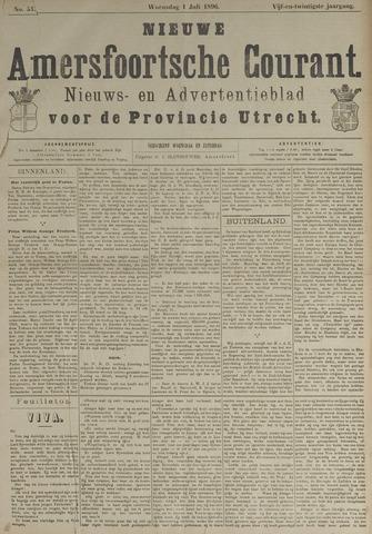 Nieuwe Amersfoortsche Courant 1896-07-01