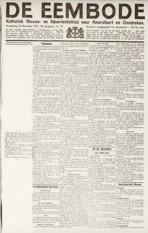 De Eembode 1914-12-31