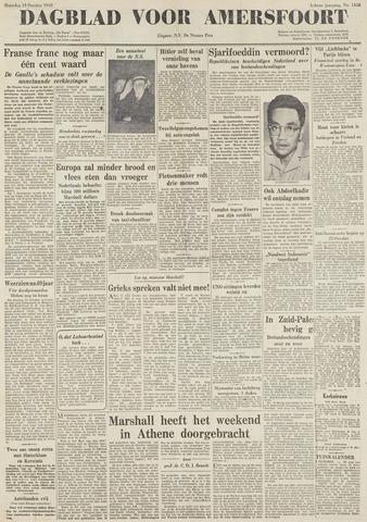 Dagblad voor Amersfoort 1948-10-18