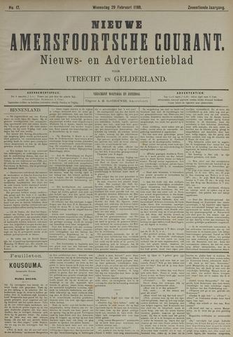 Nieuwe Amersfoortsche Courant 1888-02-29