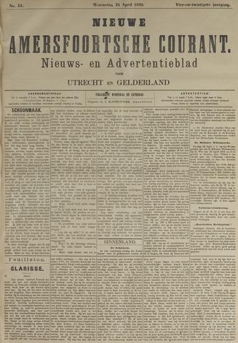 Nieuwe Amersfoortsche Courant 1895-04-24