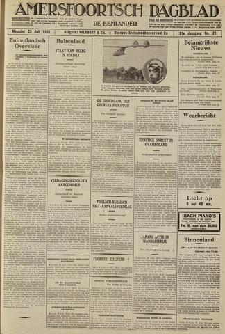 Amersfoortsch Dagblad / De Eemlander 1932-07-25