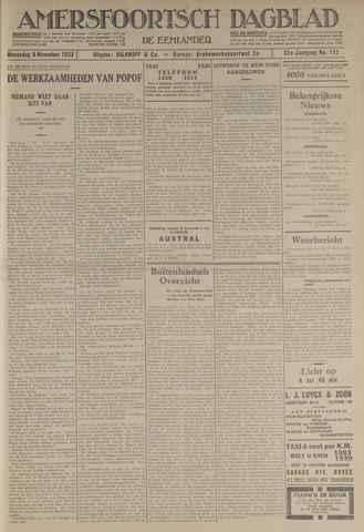 Amersfoortsch Dagblad / De Eemlander 1933-11-08